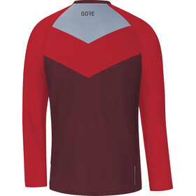 GORE WEAR C5 Trail Maillot manga larga Hombre, chestnut red